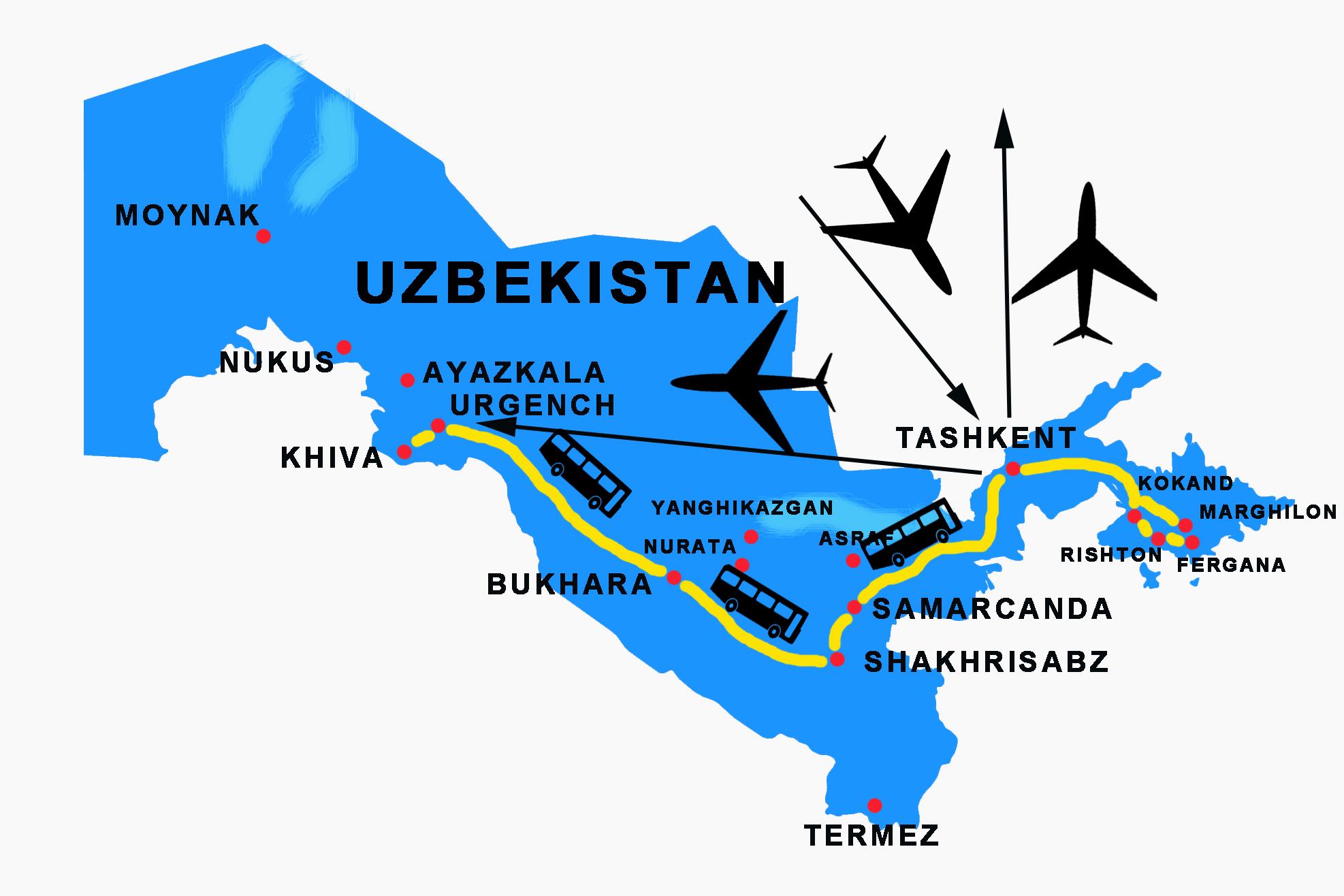 Fergana tour in Uzbekistan