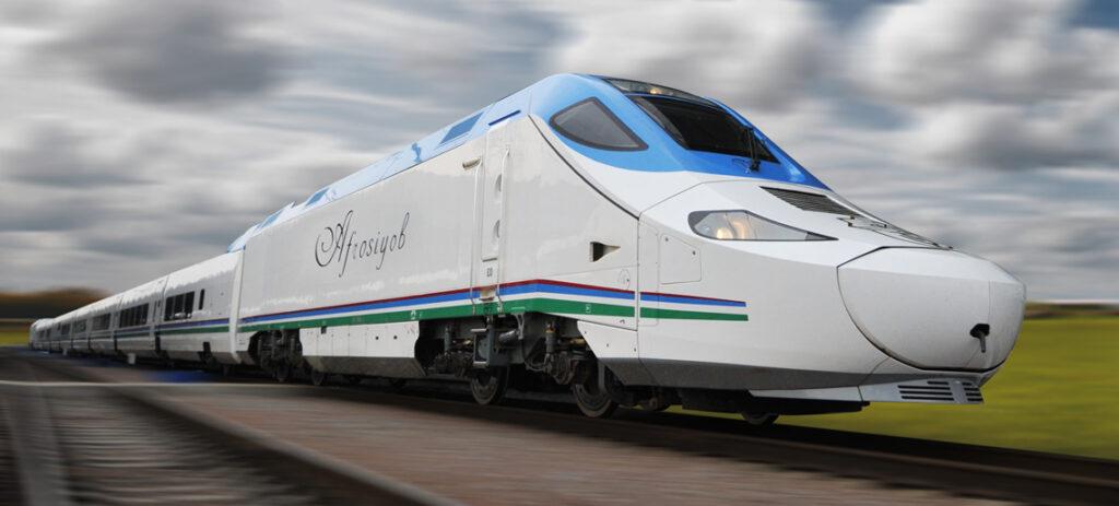 treni in Uzbekistan