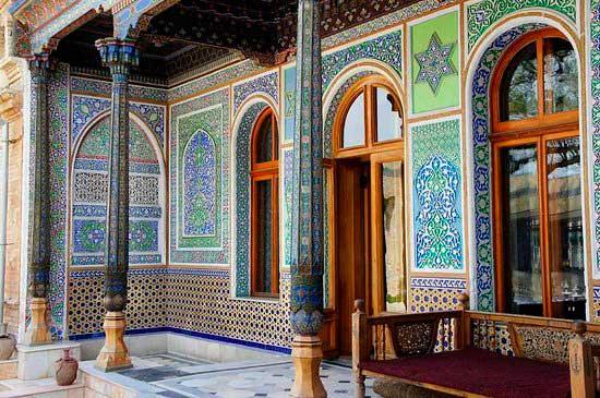 Itinerario del viaggio in Uzbekistan