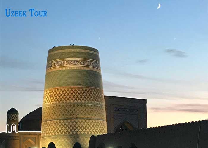 itinerario del tour una settimana Uzbekistan
